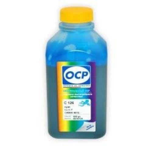 Чернила OCP C126 Cyan для картриджей HP 18, HP 88, 500 мл