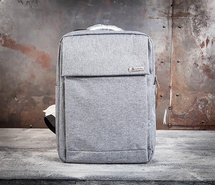 BAG455-3 Стильный городской рюкзак из ткани фото 02
