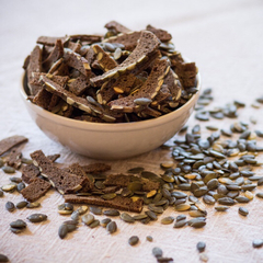 Сухари ржаные с тыквенными семечками, 200 г