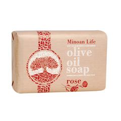 Оливковое мыло Роза MINOAN LIFE 100 гр.