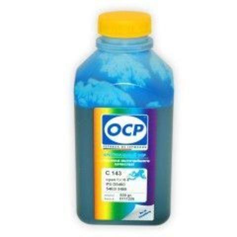 Чернила OCP C143 Cyan для картриджей HP 178, 500 мл