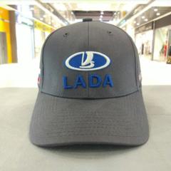 Кепка ЛАДА серая (Бейсболка LADA)