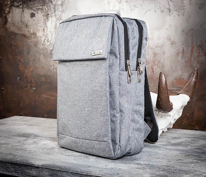 BAG455-3 Стильный городской рюкзак из ткани фото 03