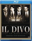 Il Divo / An Evening With Il Divo - Live In Barcelona (Blu-ray)