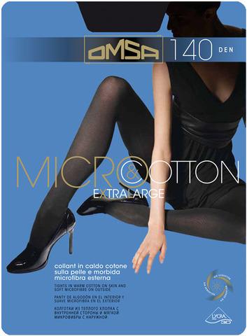 Колготки Micro&Cotton 140 XL Omsa