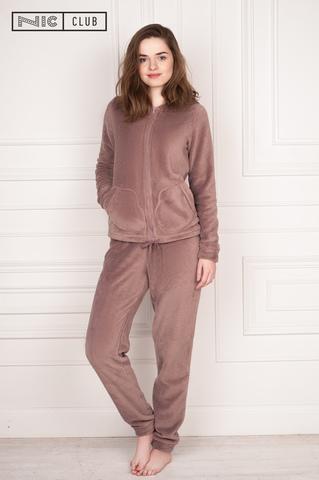 Nicсlub Комплект: кофта и брюки какао piuma-1701