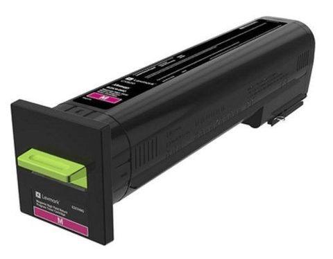 Картридж повышенной емкости для принтеров Lexmark CS820 желтый (yellow). Ресурс 22000 стр (72K5XYE)