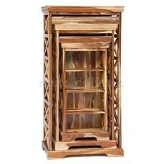 Шкафы для книг ( набор 3 шт.) Бомбей ( SAP-0761A )
