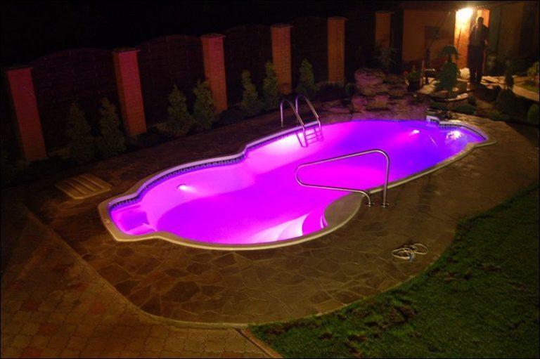 Ремонт освещения в бассейнах и фонтанах в Сочи
