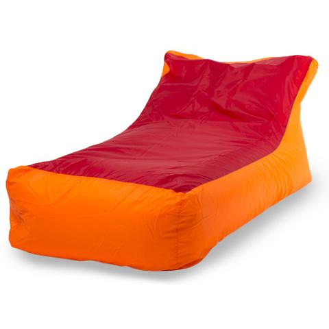 Внешний чехол «Кушетка», оксфорд, Оранжевый и красный