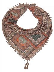 FC822-40-4 платок, коричневый