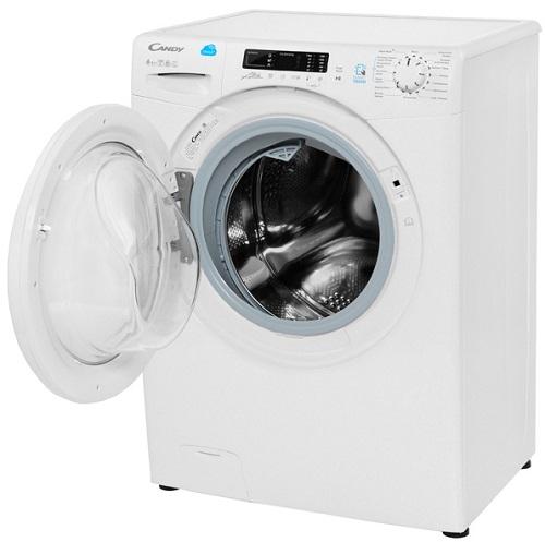 Узкая стиральная стиральная машина с сушкой Candy Smart CSW4 365D/2-07 фото