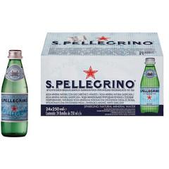 Вода минеральная San Pellegrino стекл. бут. 0,25л газ. 24 шт/уп