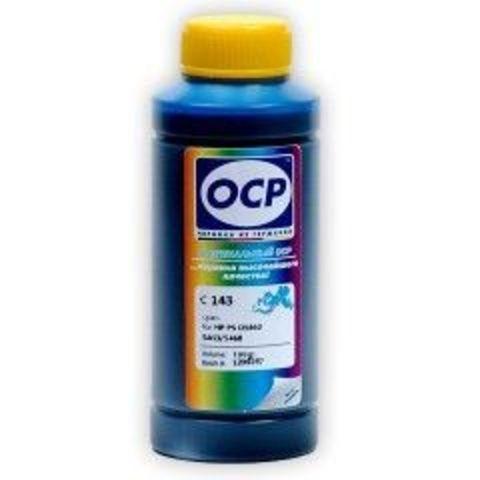 Чернила OCP C143 Cyan для картриджей HP 178, 100 мл