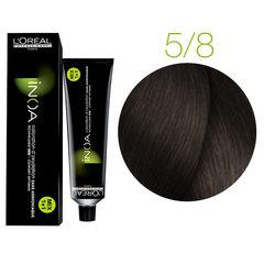 L'Oreal Professionnel INOA 5.8 (Светлый шатен мокка) - Краска для волос