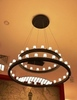 FontanaArte Chandelier Suspension lamp 2 levels