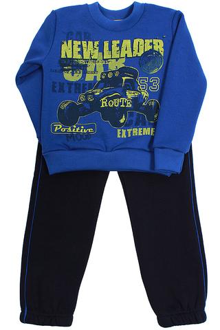 Basia Н791-4051 Комплект  для мальчика с начесом синий