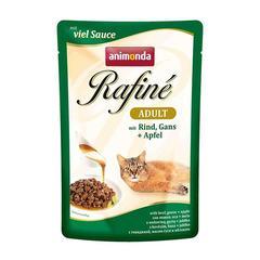 Animonda Rafine Soupe Adult влажный корм для кошек Рафине суп с говядиной  и гусем 100гр