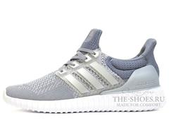 Кроссовки Мужские Adidas Ultra Boost Grey White