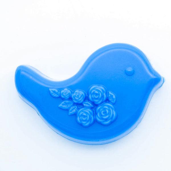 Форма для мыла Птичка/Розы
