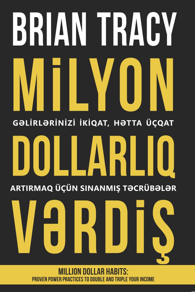 Kitab Milyon dollarlıq vərdiş | Brayan Treysi