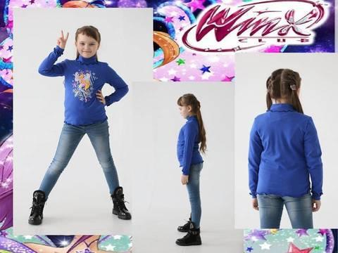 Водолазка для девочки Winx