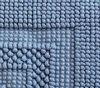 Коврик для ванной 55х75 Luxberry Универсальный голубой