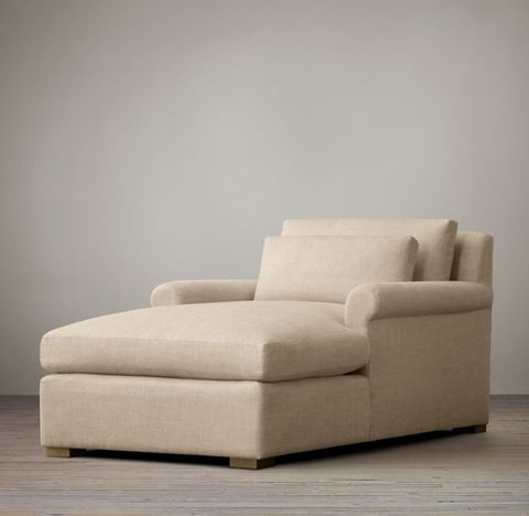 Belgian Petite Roll Arm Chaise