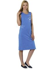 X196-1 Сарафан женский, синий