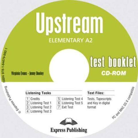 Upstream Elementary A2. Test Booklet CD-ROM. Аудио CD-ROM к сборнику тестовых заданий и упражнений