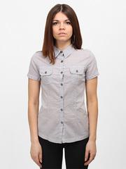 10-3177 рубашка женская, серая