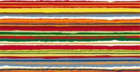 Повязка на голову спортивная Buff Multi Stripes