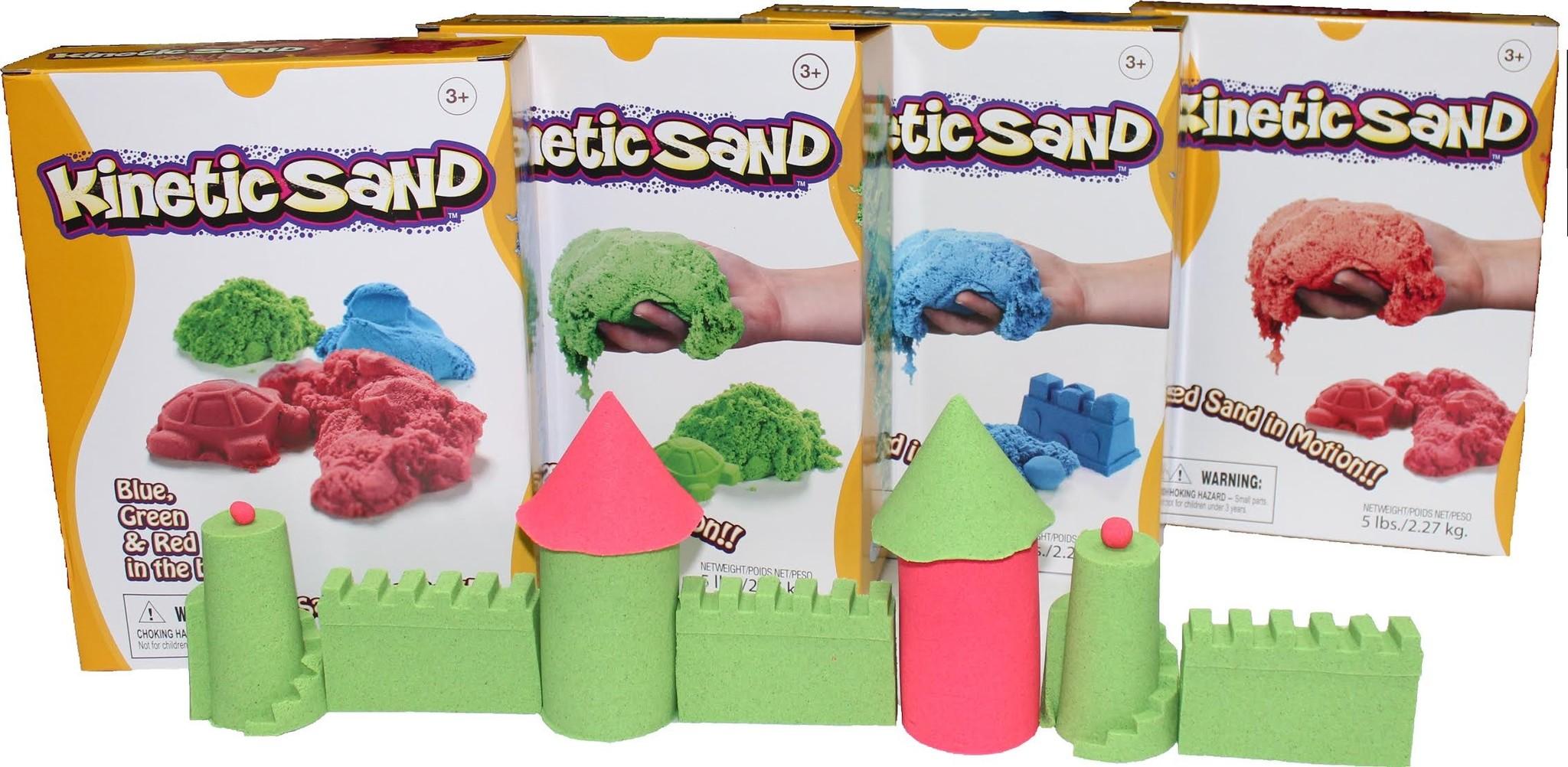 цветной песок для детей