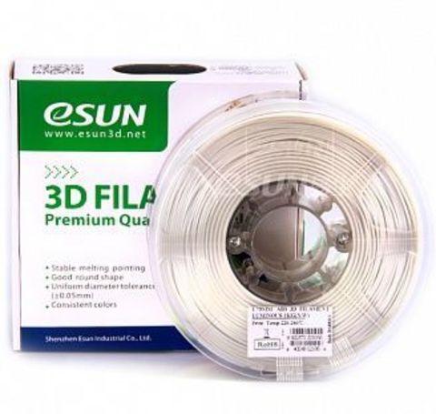 Пластик ABS ESUN 1.75 мм 1кг., люминесцентный, светящийся синий (ABS175LU1)
