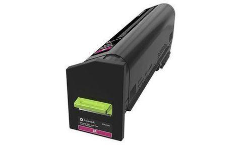 Картридж повышенной емкости для принтеров Lexmark CS820 пурпурный (magenta). Ресурс 22000 стр (72K5XM0)