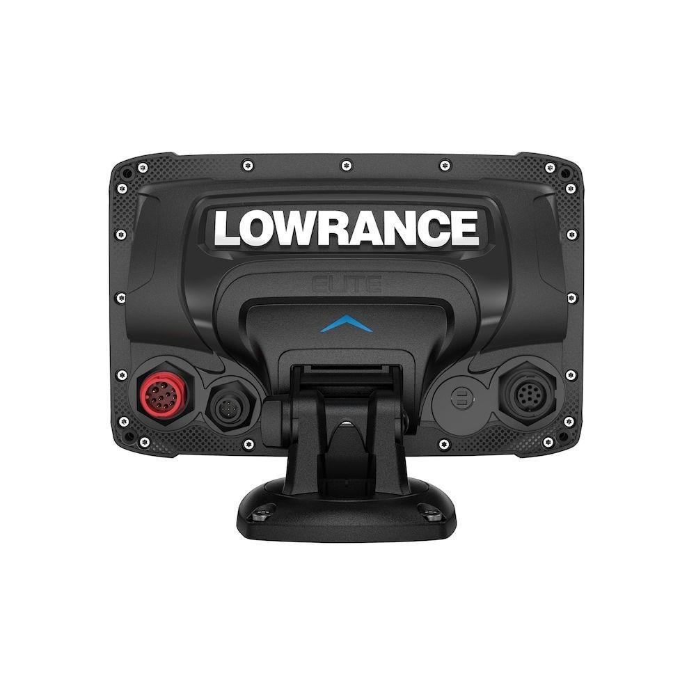 Lowrance Elite-7 Ti2 вид сзади