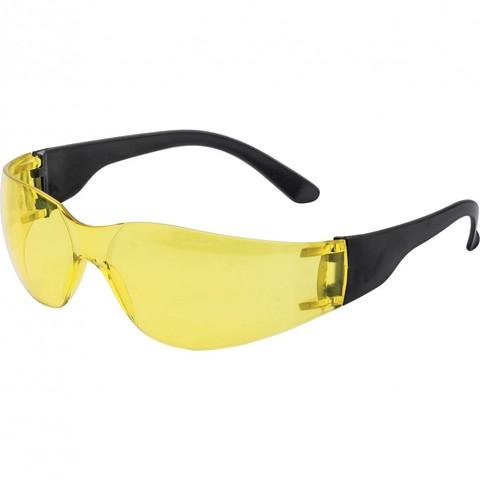 Очки защитные открытые ОЧК202 поликарб, желтые