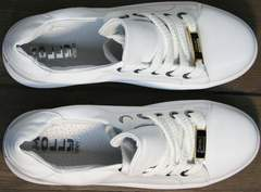 Обувь кэжуал женская Molly shoes 557 Whate