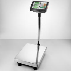 Весы электронные торговые платформенные напольные Delta до 150 кг ТВП-150