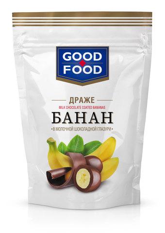 GOOD FOOD Банан в молочной шоколадной глазури 150г