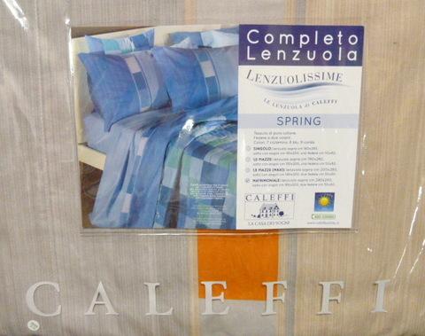 Покрывало 170х270 Caleffi Spring бежевое