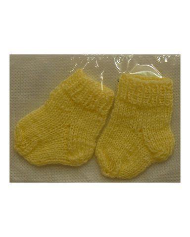 Носки - Желтый. Одежда для кукол, пупсов и мягких игрушек.