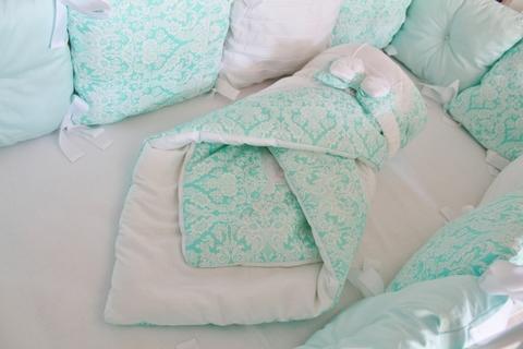 Комплект в кроватку Восточные сказки, на 4 стороны кроватки