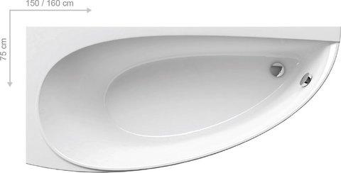 Акриловая ванна Ravak CLASSIC 170x70 N белая