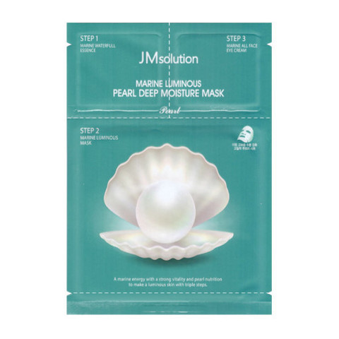 Маска JMsolution Marine Luminous Pearl Deep Moisture Mask 1шт.