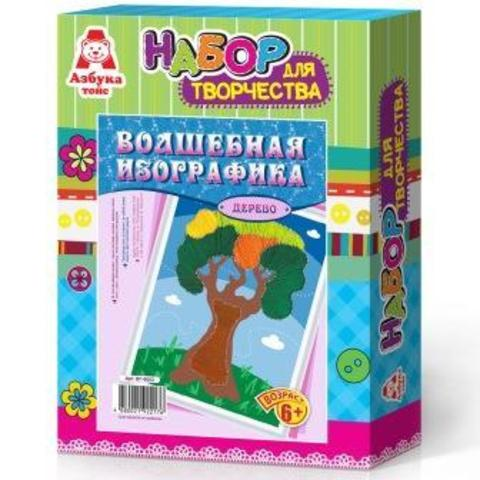 Волшебная изографика ДЕРЕВО/ВГ-0003