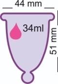 Менструальная чаша MeLuna размеры