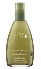 Органическая пенка для умывания «Зеленый Чай Matcha», 100% Pure