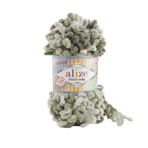 Купить Пряжа Ализе Пуффи Файн Колор Код цвета 6065 | Интернет-магазин пряжи «Пряха»