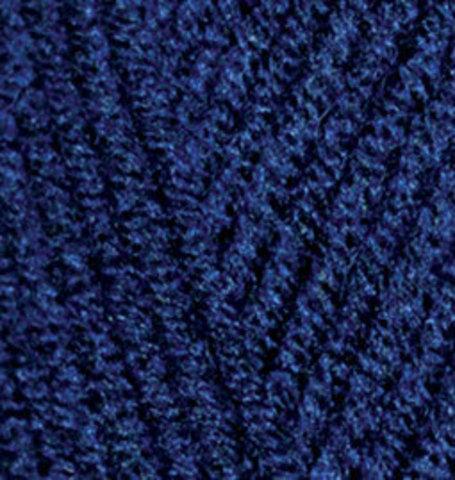 Пряжа Alize Lanagold Plus темно-синий 590
